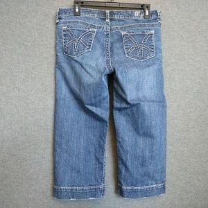 KUT FROM THE KLOTH So Low Cropped Distressed Jeans